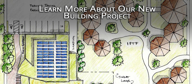 Learn more about our new building project.